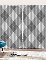 Недорогие -Многофункциональный высокой четкости утолщение окна занавес уф-печать водонепроницаемый влагостойкие ткани против обрастания занавес спальня гостиная