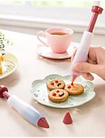 Недорогие -Силиконовая резина кухонная утварь роспись ручки формы для выпечки инструменты