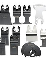 Недорогие -12шт пилы колеблющийся мультитул для инструментов Fein Bosch Porter Dremel Ridgid колеблющихся