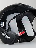 Недорогие -ixs hx 114 половинный шлем матовый черный / воздухопроницаемый / антифрикционный
