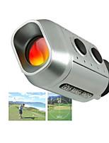 Недорогие -7x магнитный лазерный дальномер гольф гольф охотничий телескоп метр спортивный прицел