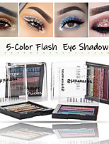 Недорогие -5 цветов мода тени для век диск красоты водонепроницаемый длительный натуральный жемчужный блеск блеск этап макияжа макияж тени для век
