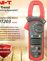 Недорогие -uni-t ut203 400a AC DC Цифровой токоизмерительный клещи Тестирование сопротивления / частоты Рабочий цикл Относительное измерение Цифровое удержание Автоматическое выключение