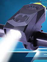 Недорогие -Светодиодная лампа Велосипедные фары Передняя фара для велосипеда LED Велоспорт Водонепроницаемый Портативные Регулируется Литий-полимерная 350 lm Перезаряжаемая батарея Белый