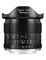 Недорогие -7Artisans Объективы для камер 7Artisans 12mmF2.8FX-BforФотоаппарат