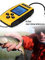 Недорогие -Портативный эхолот tl88e 9м провод эхолот сигнализация 0.6-100м глубина эхолот датчик датчика сонар для рыбалки