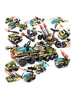 Недорогие -Конструкторы 1 pcs совместимый Legoing Ручная работа Полицейская машинка Вертолет Все Игрушки Подарок