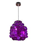 Недорогие -Корпус подвесного светильника регулируемый подвесной светильник островные светильники подвесной светильник рассеянного света металлический гальванический для прихожей гостиной