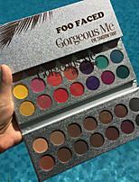 Недорогие -1 шт. Новая красота глазурованная профессиональный макияж 63 цвета палитра теней для век пигмент матовая косметика палитра косметика
