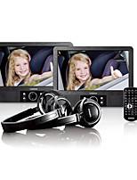Недорогие -LENCO MES-415 DVD-плеер Портативный USB двухъядерный / черный