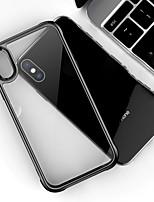 Недорогие -Кейс для Назначение Apple iPhone XS / iPhone XR / iPhone XS Max Прозрачный Кейс на заднюю панель Прозрачный Твердый Акрил