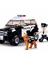Недорогие -Конструкторы 78 pcs совместимый Legoing трансформируемый Полицейская машинка внедорожник Все Игрушки Подарок