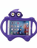 Недорогие -Кейс для Назначение Apple iPad New Air (2019) / iPad Air / iPad (2018) Безопасно для детей Кейс на заднюю панель Однотонный / 3D в мультяшном стиле Этиленвинилацетат / iPad (2017)