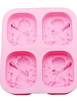Недорогие -1шт кремнийорганическая резина Для приготовления пищи Посуда Формы для пирожных Инструменты для выпечки