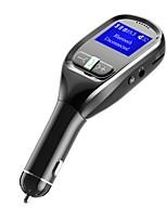 Недорогие -Bluetooth FM-передатчик для автомобильного беспроводного автомобильного FM-передатчика комплект радиоадаптера с функцией громкой связи Bluetooth стерео радиоадаптер 5v / 3.1a универсальное