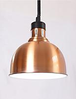 Недорогие -чаша / промышленные Подвесные лампы Потолочный светильник Электропокрытие Металл Творчество, Регулируется, обожаемый 110-120Вольт / 220-240Вольт