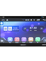 Недорогие -litbest he6606 6,95 дюйма 2 дин андроид в тире автомобильный DVD-плеер / автомобильный GPS-навигатор с сенсорным экраном / GPS / встроенный Bluetooth для универсальной поддержки Bluetooth MOV / RM
