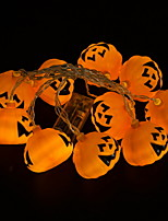 Недорогие -3 м тыква гирлянда 20 светодиодов теплый белый хэллоуин благодарения декоративные 5 в 1 комплект