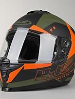 Недорогие -hjc is-17 armada mc7f анфас для взрослых унисекс мотоциклетный шлем защита от ультрафиолетовых лучей / термостойкий / моющийся