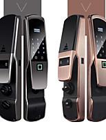 Недорогие -Factory OEM S6 сплав цинка Интеллектуальный замок Умная домашняя безопасность система RFID / Отпирание отпечатка пальца / Разблокировка пароля Дом / офис Дверь безопасности (Режим разблокировки