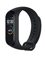 Недорогие -Xiaomi Mi Band 4 Smart Watch BT 5.0 Поддержка фитнес-трекер уведомить совместимые телефоны Samsung / Huawei Android&усилитель; iphone (китайская версия)