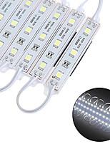Недорогие -5 метров Гирлянды 60 светодиоды SMD5050 Тёплый белый / Белый Водонепроницаемый / Новый дизайн 12 V 1 комплект