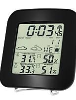 Недорогие -ts-73 беспроводной барометр для внутреннего и наружного термометра и гигрометра, часы, термометр и гигрометр