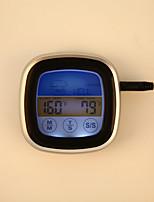 Недорогие -TS-S62 цифровой красочный сенсорный экран термометр духовки мгновенного чтения зонда приготовления пищи барбекю кухонный термометр