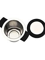 Недорогие -Нержавеющая сталь Инструкция Круг 1шт Ситечко для чая