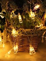 Недорогие -2 м 6.6 футов бутылка вина гирлянда 20 светодиодных новинка патио крыльцо свет теплый белый октябрь фестиваль пиво творческий декоративный