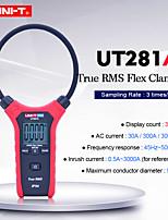 Недорогие -uni-t ut281a smart digital rogowski гибкий измерительный прибор мультиметр ручной тестер переменного тока истинный среднеквадратичный зажим амперметр
