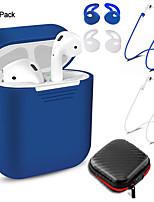 Недорогие -для airpods комплект защиты беспроводной гарнитуры bluetooth