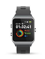 Недорогие -P1C Мужчина женщина Смарт Часы Android iOS Bluetooth Водонепроницаемый Сенсорный экран Пульсомер Спорт Длительное время ожидания Педометр Датчик для отслеживания сна Секундомер