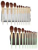 Недорогие -профессиональный Кисти для макияжа 12шт Мягкость Новый дизайн Закрытая чашечка обожаемый удобный Деревянные / бамбуковые за