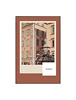 Недорогие -Холст в раме - Абстракция Металл Масляные картины Предметы искусства
