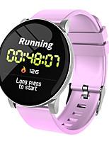 Недорогие -DMDG круглый экран умные спортивные часы мониторинг сердечного ритма артериальное давление мониторинг спорта спортивный шаг водонепроницаемый браслет для Android Apple
