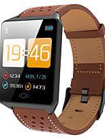 Недорогие -Ck19 умный браслет фитнес-трекер артериальное давление монитор сердечного ритма 1,3-дюймовый смарт-часы мужчины женщины relogio смарт-браслет