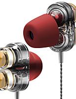 Недорогие -qkz trustfire ck5 в наушниках с проводным креплением apt-x codec наушники силикагель вкладыши для наушников стерео наушники