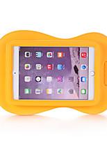Недорогие -Кейс для Назначение Apple iPad Mini 5 / iPad Mini 3/2/1 / iPad Mini 4 Безопасно для детей Кейс на заднюю панель Однотонный / 3D в мультяшном стиле Этиленвинилацетат
