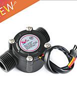 Недорогие -1-30 л / мин датчик расхода воды расходомер 1/2 датчик расхода воды контроллер 2.0mpa для устройства измерения расхода yf-s201