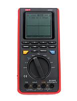 Недорогие -Цифровой мультиметр uni-t ut81c Портативный ЖК-осциллограф Осциллограф Частота дискретизации в реальном времени 8 МГц 40 мс / с с интерфейсом USB