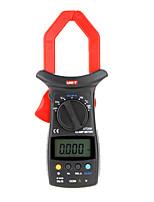 Недорогие -измеритель токовых клещей uni-t ut206 с подсветкой жк-дисплея 3999 отсчет автодиапазон dmm цифровые клещи мультиметры