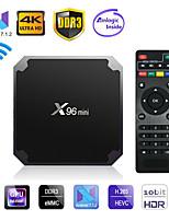 Недорогие -Factory OEMTV BOX X96 mini Android 7.1 Amlogic S905X 1GB 8Гб