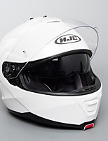 Недорогие -hjc белый анфас шлем для взрослых унисекс мотоциклетный шлем ветрозащитный / лучшее качество / дышащий