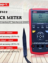 Недорогие -измеритель емкости uni-t ut612 lcr метр 20000 цифровой измеритель сопротивления проникновению влаги с жидкокристаллическим дисплеем с подсветкой