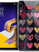 Недорогие -Кейс для Назначение Asus ASUS Zenfone 5 (ZE620KL) / ASUS Zenfone 5Z (ZS620KL) / ASUS Zenfone 5 lite / Zenfone 5Q ZC600KL Защита от удара / Флип / С узором Кейс на заднюю панель Пейзаж / Мультипликация