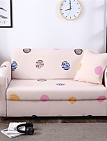 cheap -Wave Point Print Dustproof All-powerful Slipcovers Stretch Sofa Cover Super Soft Fabric Couch Cover with One Free Pillow Case