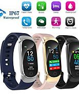 Недорогие -QS01 умный браслет Bluetooth цветной экран монитор сердечного ритма измерения артериального давления фитнес-трекер водонепроницаемый смарт-часы