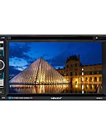 Недорогие -6,2-дюймовый 2-дюймовый Android-андроид in-dash автомобильный DVD-плеер / автомобильный GPS-навигатор ик-пульт дистанционного управления / радио / встроенный Bluetooth для универсальной поддержки Blue