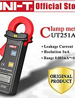 Недорогие -uni-t ut251a высокочувствительные токоизмерительные клещи измерители тока с автоматическим диапазоном тока жк-дисплей